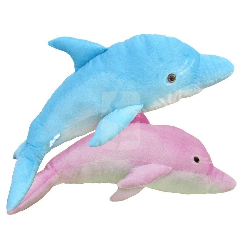 75cm Simulyasiya delfinləri təmtəraqlı oyuncaqlar Cütlüklər böyük ölçülü delfinləri yeniləmə şəklində saxlayırlar