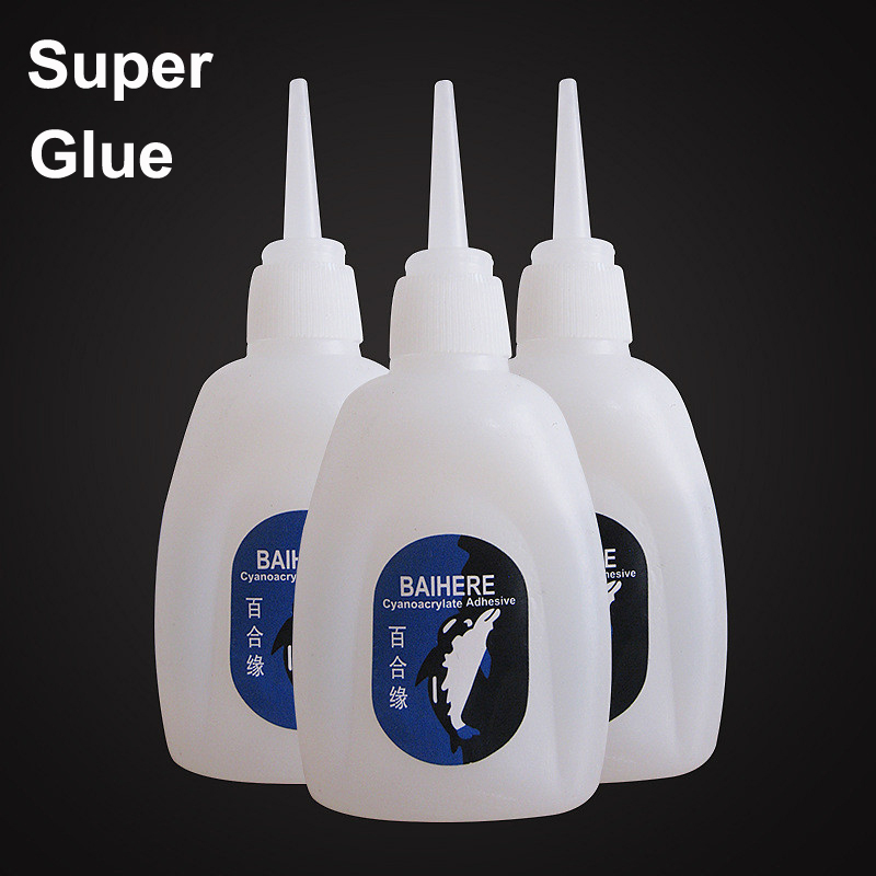 Liquid Strong Super 502 Cyanoacrylate Adhesive Glue Metal Wood Rubber Paper Leather Scrapbooking Accessory Tool Stationery Store