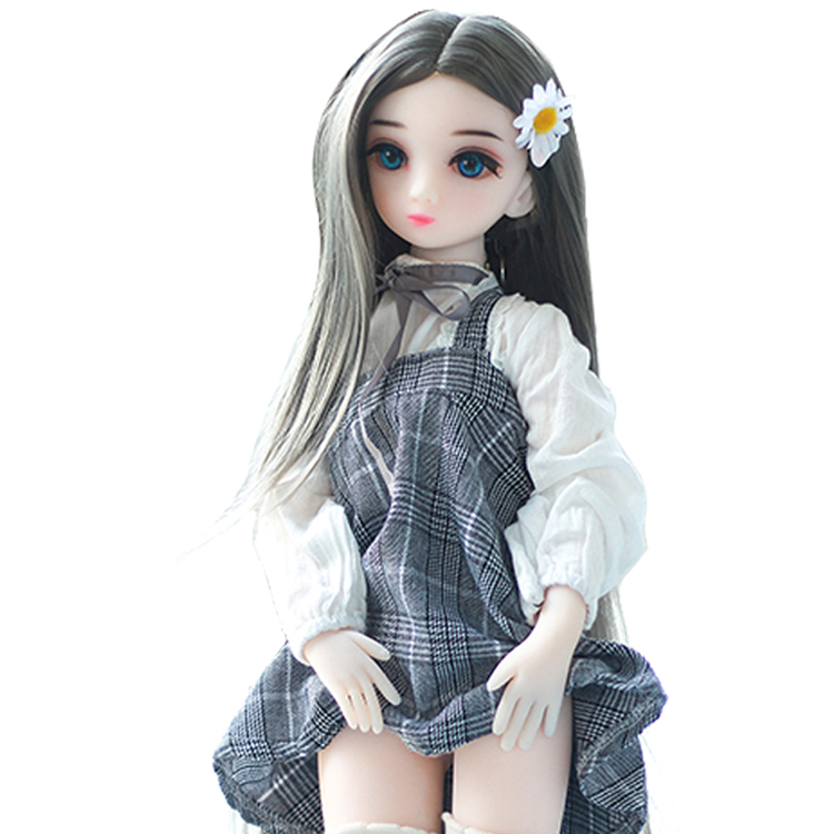 Estartek Doll Chest-Figure Silicone Anime Small with 1/3 High-Quality Sexy Soft TPE 65cm