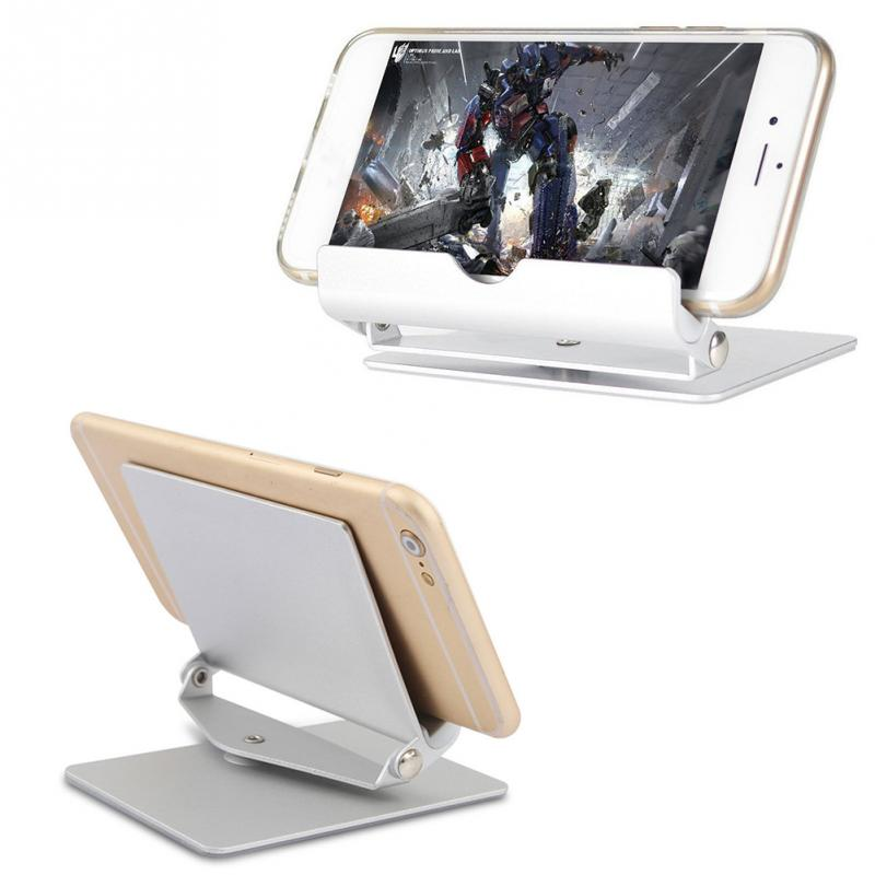 Lazy Metal Mobile Tablet Stand Desktop Rotation for ipad Tablet PC Universal Phone Holder