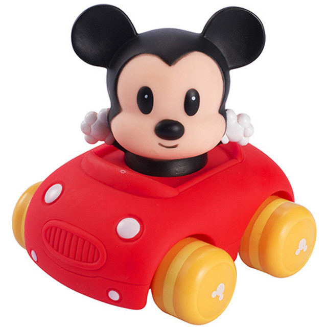 Disney Mickey Figura Linda Ninos Tira Del Coche Juguetes Carros