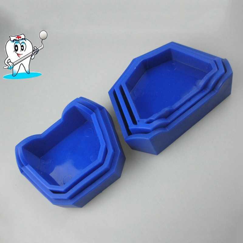 Dental Lab tynk Model bazy były formy taca dentysta narzędzie 3 rozmiar (duży/średni/mały)