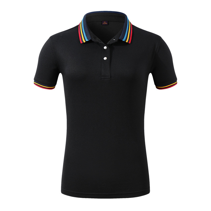 Image 4 - 2019 Summer Fashion Polo Shirt Women New Casual Short Sleeve Slim Polos Shirts Tops Female Cotton Clothes-in Polo Shirts from Women's Clothing