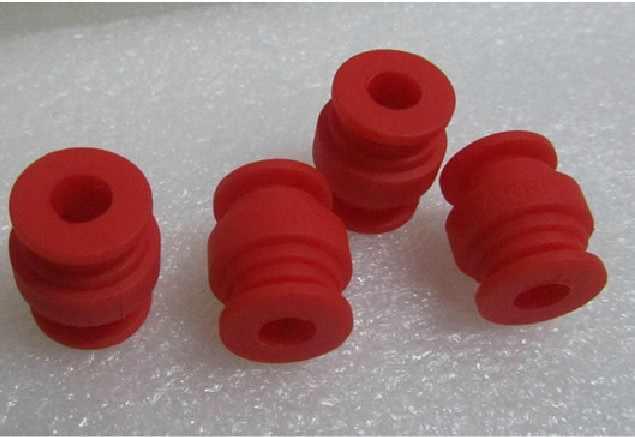 4 pièces rouge PTZ cardan AV balle amortissement caoutchouc balle rouge pour FPV caméra montage Multicopter F07556-4