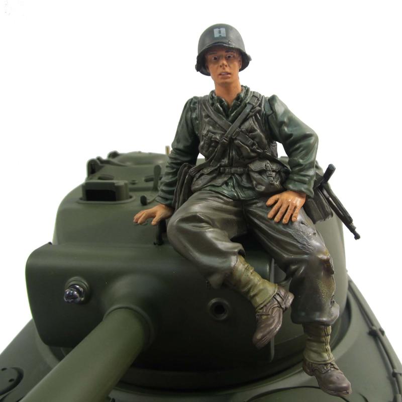 "1:16 1/16 Modelul ""H"" RC Tank Commander Figura solidei soldați americani pentru Mato Heng Long Tamiya RC Tank"