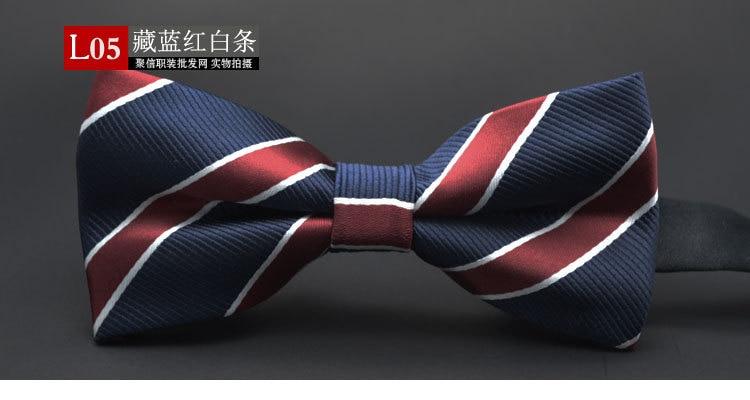 GUSLESON NEW Dot Bow Tie Toy Bowtie Noeud Papillon Oğlanlar və - Geyim aksesuarları - Fotoqrafiya 4