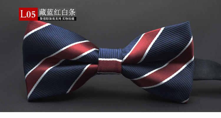 Gusleson nova dot gravata borboleta casamento noeud papillon meninos & meninas poliéster seda pajaritas cravat bowties feminino masculino decote