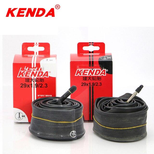 95395766a46 KENDA bicycle tire inner tube 29er 29 1.9-2.3 AV FV MTB mountain bike inner  tubes 29 wheel tire ultralight Schrader Presta