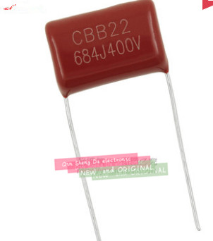500PCS 400V 684J 0 68UF P 15MM CBB Capacitors NEW