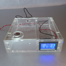 Optical drive computer water cooling tank water cooler with digital display thermometer 0072 4Pin