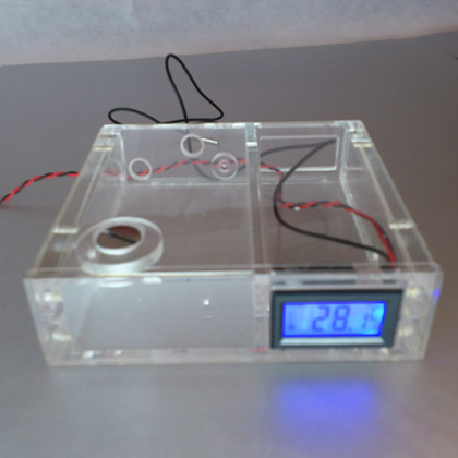 Optical font b drive b font computer water cooling tank water cooler with digital display thermometer