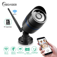 WOASER 1 0MP WIFI IP Camera Waterproof 720P HD Network Wifi Camera Day Nignt Vision Outdoor