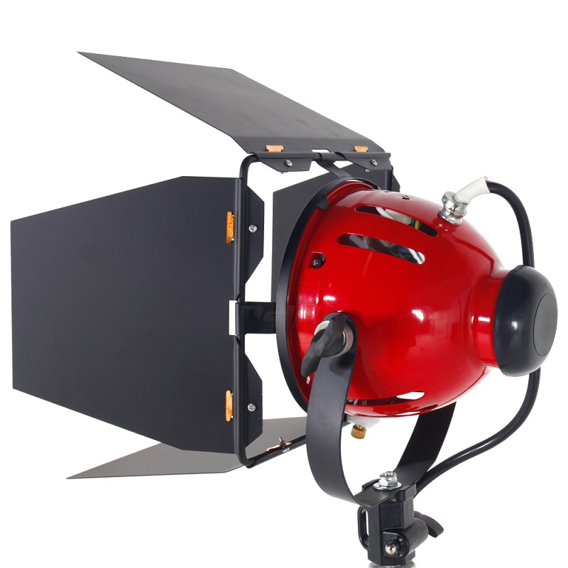 800 W Studio Video rojo luz de la cabeza con Dimmer iluminación continua + bombilla envío gratis CD50