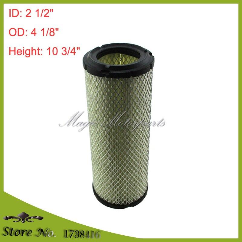 3-Air Filters For Briggs 841497 Kawasaki 11013-7020 Kohler 25 083 01-S