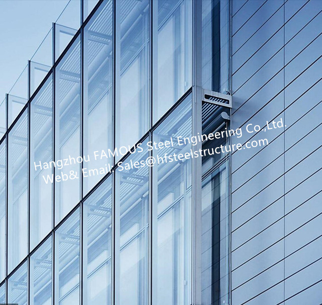 Double Glass Wall Ventilated Facade Office Building