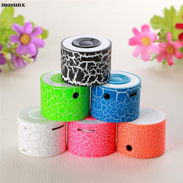 mosunx Portable Mini Stereo Bass Speakers Music Player Wireless  TF Speaker for U disk TF/Micro SD Card for iPod MP3 for iPhone