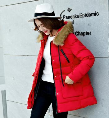 2017 New Arrival Winter Cotton Maternity Coats High Quality  Jacket for Pregnant Women Korean Loose Large Size Down coat SZ1101