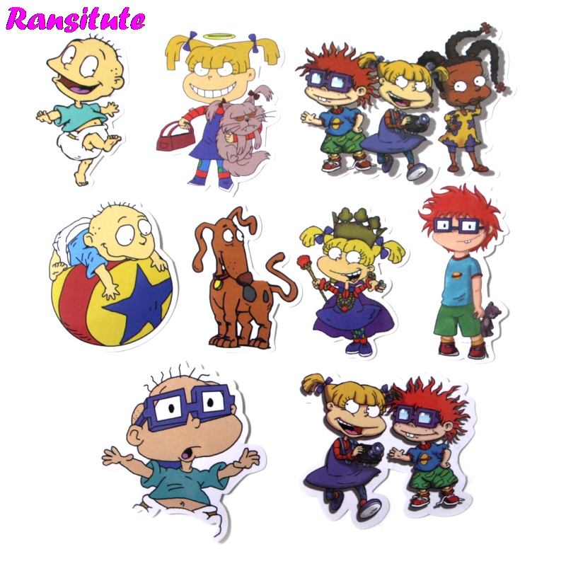 40pcs/set  Funny Stickers Laptop Skateboard Luggage Car Styling Bicycle  Graffiti Decals Cool Waterproof Stickers