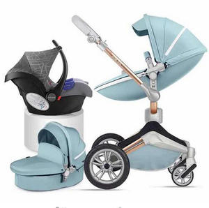 Baby Stroller Hot Mom Folding-Reclining Lightweight High-Landscape Can Sit Imported