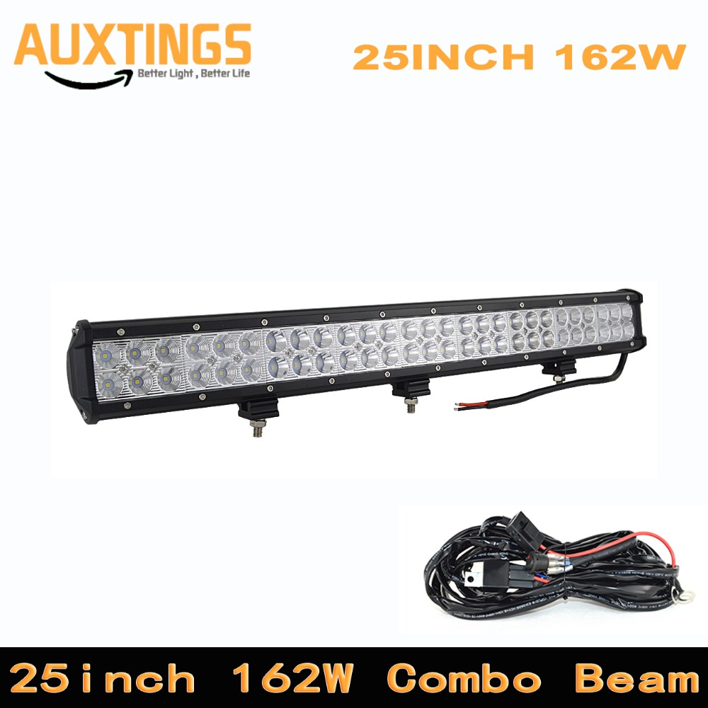 High Power 25 28 36 Inch 162w 180w 234w Combo led work light bar For Driving