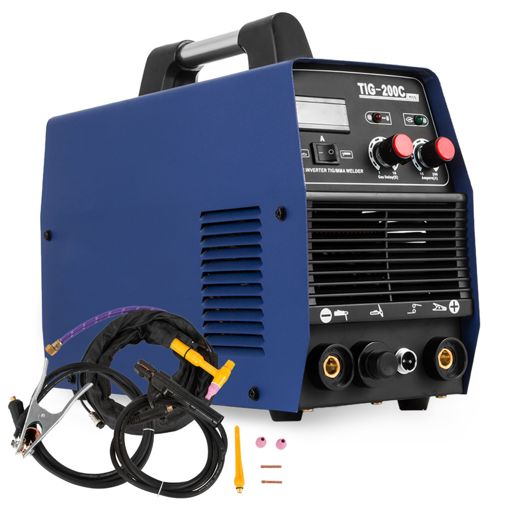 TIG 200AMP HF Start TIG/MMA 2 In 1 DC Inverter Welder Lowest Price Of The Year-11.11