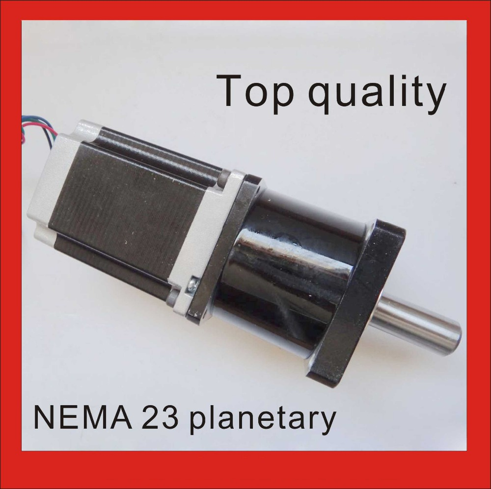 NEMA 23 Planetary Gearbox Stepper Motor Nema23 Motor Body 56mm Gear Ratio 5:1 10:1 57mm planetary gearbox geared stepper motor ratio 10 1 nema23 l 56mm 3a