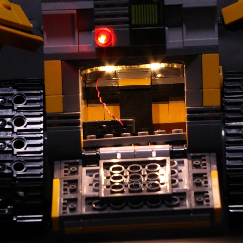 Led Wall Light Flashing: LEGO 21303 Led Light Robot WALL E Eyes Flashing Light