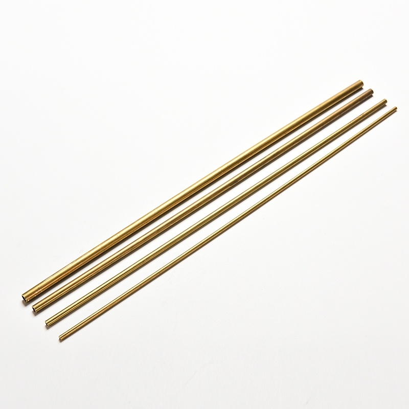 Diameter 2/3/4/5mm Brass Tubes Brass Pipe Brass Tube Length 30cm Long 0.45mm Wall Cutting Tool Parts