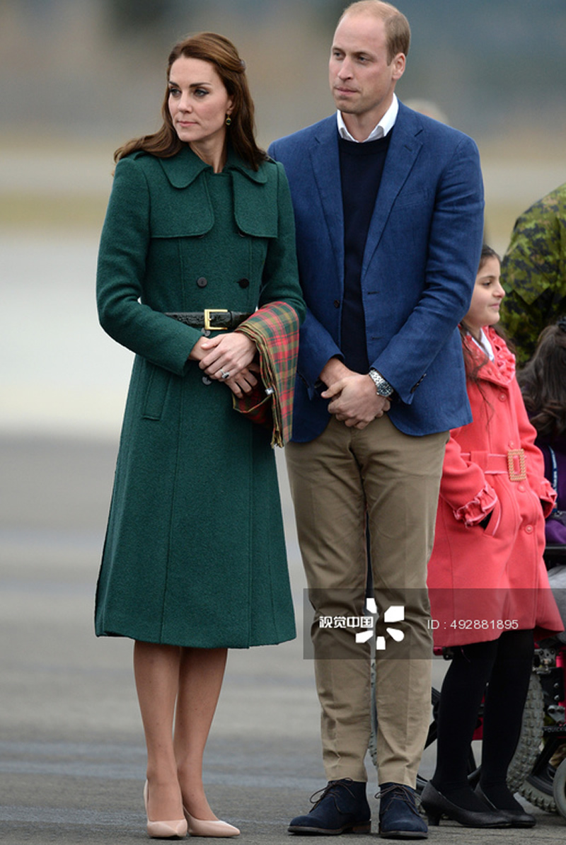 Hot Sale New Kate Middleton Princess Wool Coat Fashion Warm Double Breasted Winter Coat With Belt