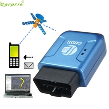 OBD2 OBDII GPS GPRS Real Time Tracker Car Vehicle Tracking System Geo-fence Jun.6