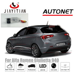 Tylna kamera JiaYiTian dla Alfa Romeo Giulietta 940/QV/GTSQ2/Squadra Corse TCT 2010 ~ 2018 CCD Night Vision licencja kamera na tablicę rejestracyjną w Kamery pojazdowe od Samochody i motocykle na