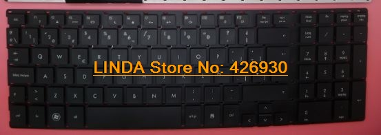 Laptop Keyboard For HP 4510S 4515S 4710S Black Without Frame  SP SG-33200-2EA 516884-071 536537-071 6037B0043726 SN5092 laptop keyboard for acer silver without frame bulgaria bu v 121646ck2 bg aezqs100110