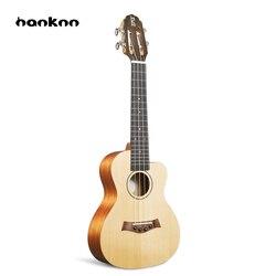 Hanknn Professionnel 23 pouce Ukulele Uke Hawaii Guitare Acoustique À Cordes Instruments de Musique Mat Ukulélé Pour Begginer