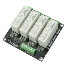 4 Channel SSR Solid State Relay high-low trigger 5A 3-32V For Arduino uno R3 New