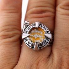 Hitman renascer anéis de cosplay vongola anéis de liga de cristal masculino feminino anéis vintage