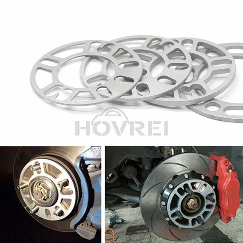 Universal Alloy Wheel Aluminium Spacer Plate/Shims 2 20mm 5-Hole Stud Pair