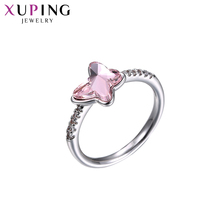 Xuping Jewelry Luxury Ring Literary Styles Crystals from Swarovski Classical for Women New Years Day S142.6-15242