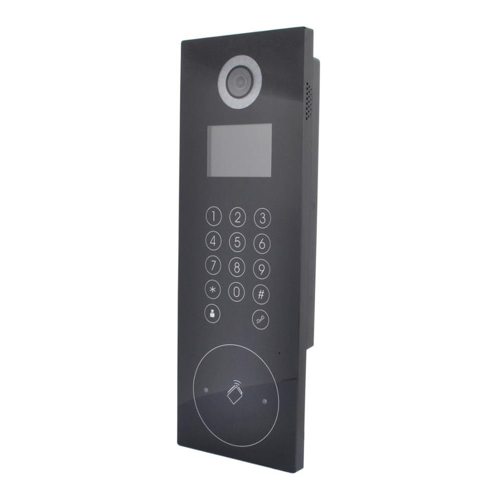 Hik HD Video Access Control DS KD8102 V Video Door Station Touch the button IC card;password open door;|door station|buttons buttons|card card - title=