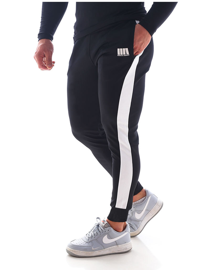 Sellwell Autumn Men Pants Fitness Clothes Joggers Pants 2019 New Male Trousers Mens Joggers Cotton Trousers Gym Men's Work Pants