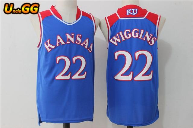429065eda ... college basketball jersey blue white 21965 3afca promo code for uncle  gg andrew wiggins jersey cheap basketball jersey 2017 kansas jayhawks 22 ku  ...