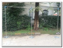 New arrival popular 3 x 6m (10ft x 20ft) wedding pipes stand for wedding backdrop decoration Free Shipping