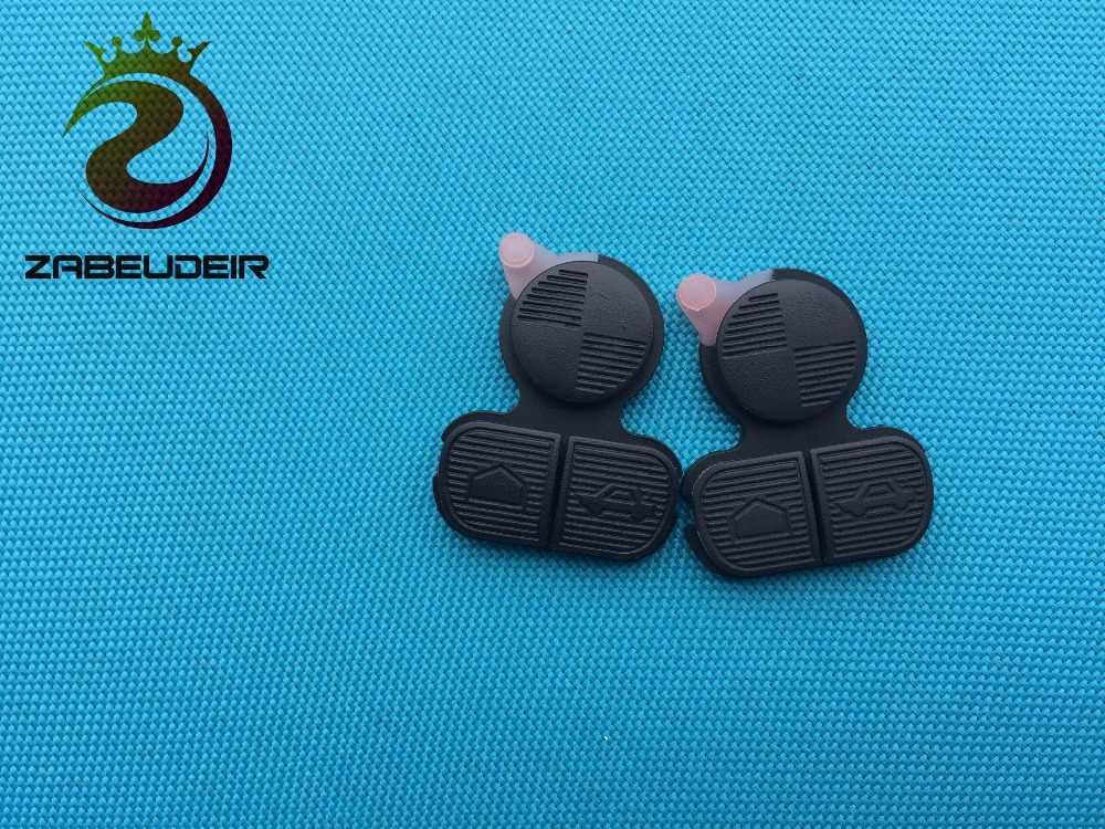 ZABEUDEIR 2 pcs/lot 3 boutons remplacement à distance des boutons des touches Pad pour BMW 3 5 7 E31 E32 E39 E46 E52 coque de clé à distance