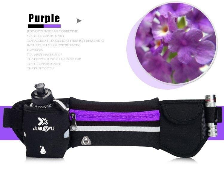 Outdoor Women&Men Hydration Belt For Trail Running Hip Waist Pack Gym Fitness Jogging Waist Bag Water Bottle Sport Accessories 21