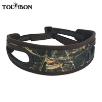 Tourbon Wholesale Tactical Camouflages Hunting Rifle Gun Sling Strap Two Thumbholes