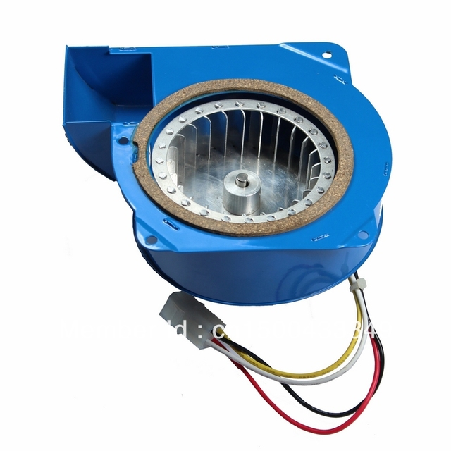 free shipping - Tarphone 20W 220V low-noise Korean BBQ grill fan - bent / curved port,  speed adjustable, centrifugal blower fan