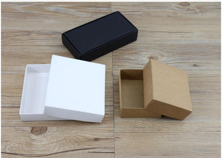 250 100 60mm large white paper gift box big size kraft. Black Bedroom Furniture Sets. Home Design Ideas