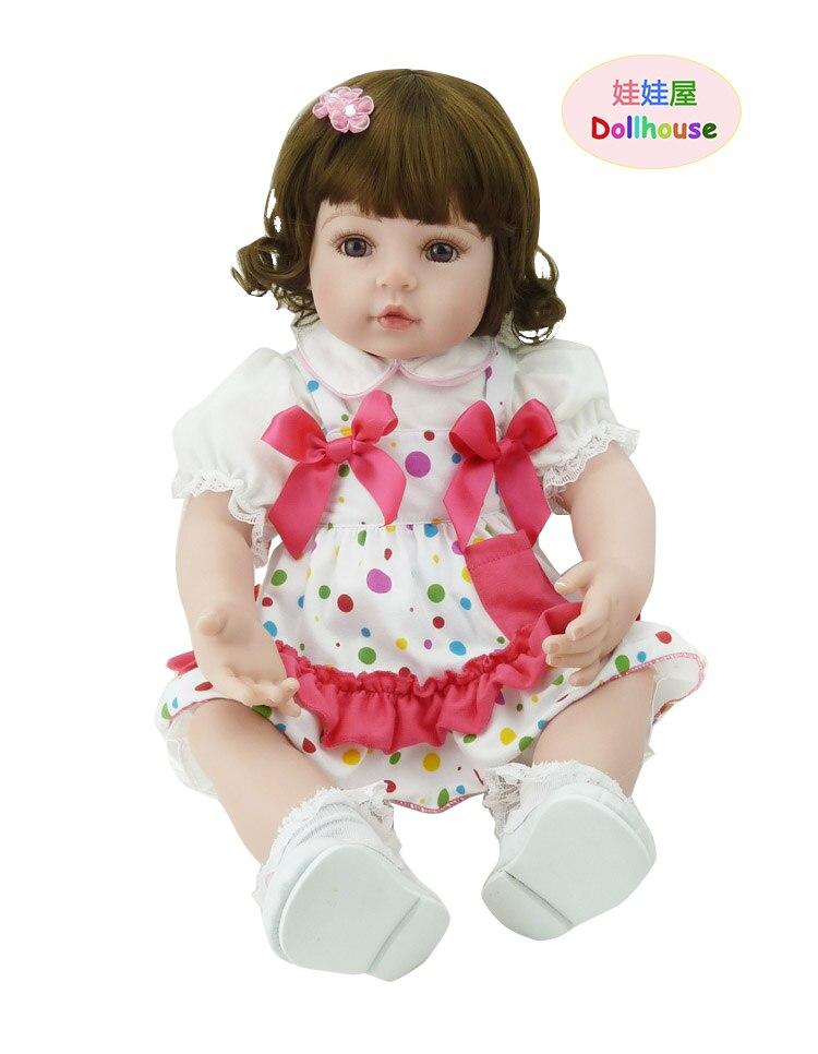 56 cm réaliste Silicone Reborn bébé vivant né bébé poupées 22 pouces vinyle porter des vêtements pour bébés vraiment mignon enfants Playmates jouets