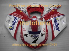Injection mold Fairing KIT for DUCATI 848 1098 1198 08 09 Ducati ducati 1098 2008 2009 TOP Red white PIRELLI Fairings set