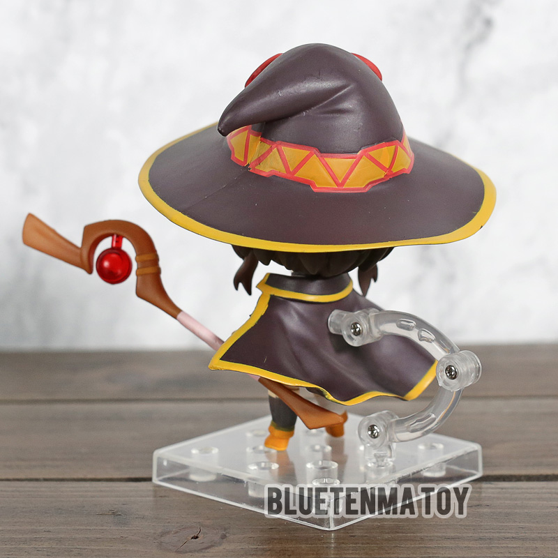 Image 4 - Comic Anime KonoSuba God's Blessing on This Wonderful World 2 Megumin Nendoroid 725 # Action Figure Toys-in Action & Toy Figures from Toys & Hobbies