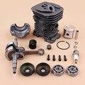 40 мм поршневой цилиндрический коленчатый вал коленчатый подшипник сальник комплект двигателя для HUSQVARNA 136 137 141 142 Запчасти для бензопилы ...